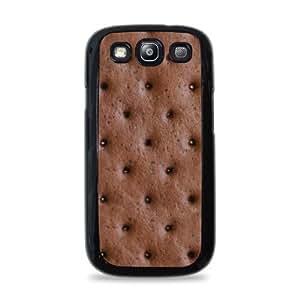 2008 Ice Cream Sandwich Samsung Galaxy S3 Silicone Case - Black