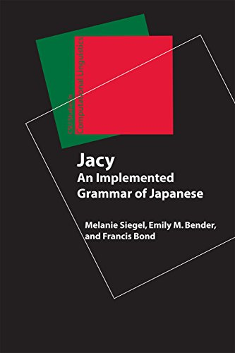 Jacy: An Implemented Grammar of Japanese (Studies in Computational Linguistics)