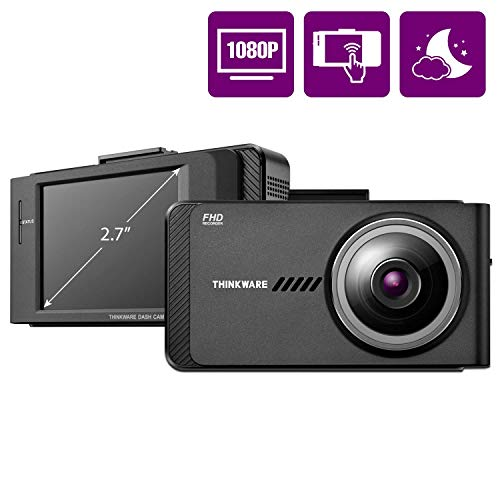 THINKWARE X700 Car Dash Cam 1080P FHD 140°Wide Angle Dashboard Camera Recorder for Cars with G-Sensor, Car Camera w/Sony Sensor, WiFi, Night Vision, Loop Recording, 32GB, Optional Parking Mode and GPS
