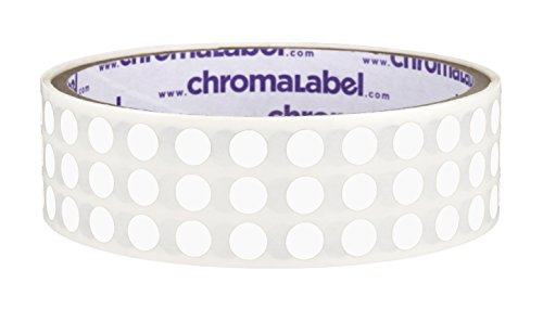 inch Color Code Labels Roll White product image