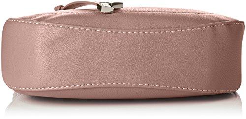 David Jones Damen 5680a-1 Schultertasche, 7x18x19 centimeters Pink (D.pink)