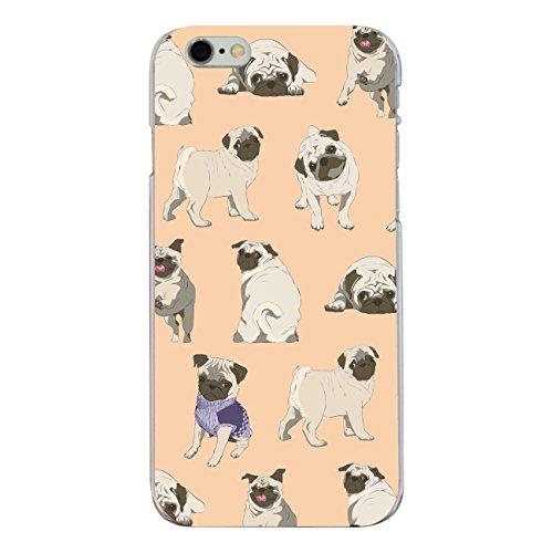 "Disagu SF-sdi-4336_1161#zub_cc6146 Design Schutzhülle für Apple iPhone 6S - Motiv ""Pugs 03"""