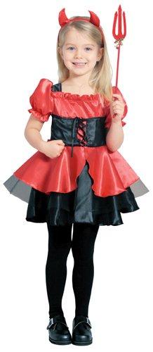 Pretty Devil Costume - Child M Size ()