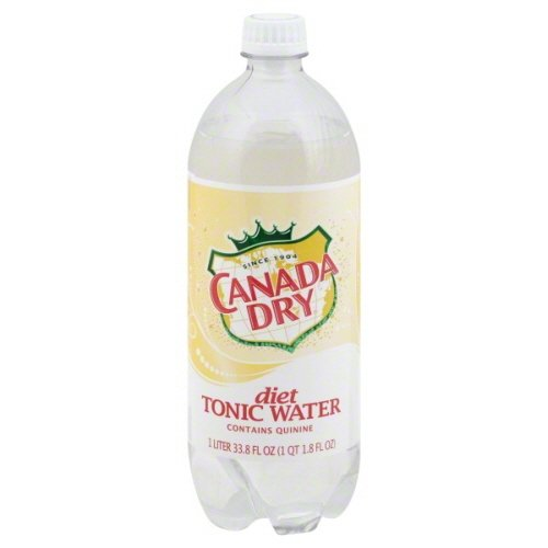 Canada Dry Tonic Water (Canada Dry Diet Tonic Water, 33.82 Ounce (15 Bottles))