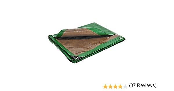/impermeable de construcci/ón Lona de protecci/ón 3/x 5/m 250/G//m/²/ /de pl/ástico/ /exterior/ de techado