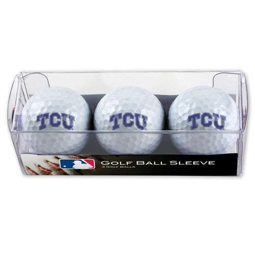 TCU Horned Frogs Golf Balls - 3 Pack (Horned Tcu Frogs Golf)