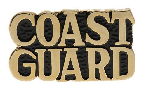 Coast Guard 1 inch Script Hat or Lapel Pin H14775D160 ()
