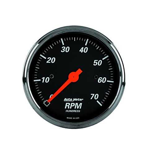 Auto Meter 1498 Designer Black Dash Electric Tachometer by Auto Meter