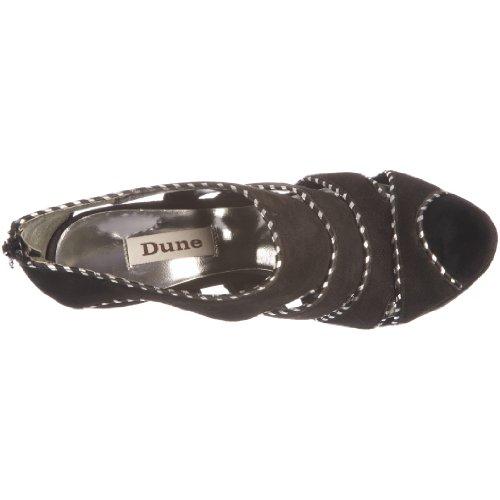 Dune - Zapatos de ante para mujer Negro