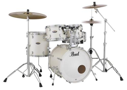 Pearl Decade DMP905P/C229 5 Piece Drum Shell Pack, White ...