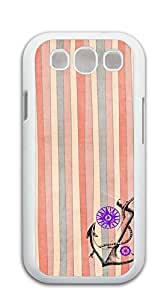 TUTU158600 Plastic Phone Case Back Cover s3 I9300 - Anchors jagged color