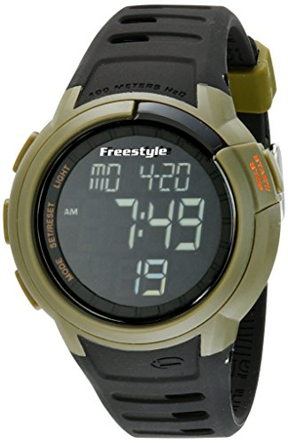 Freestyle Unisex 10019178 Mariner Digital Green Watch with Black (Freestyle Womens Snowboard)