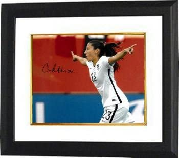 Christen Press Autographed Picture - 8x10 Custom Framed