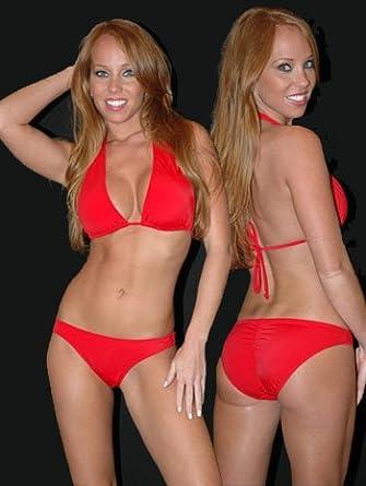 red bikini sexy Hot