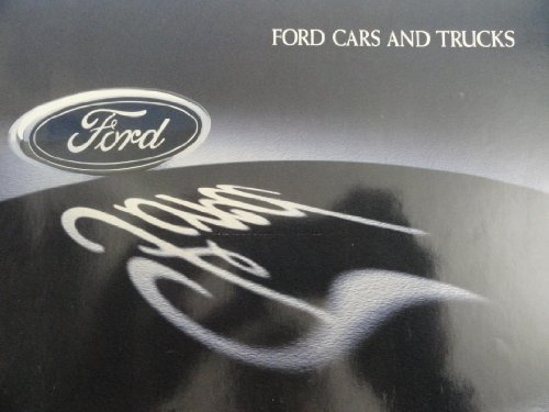 (1997 Ford Taurus / F-150 F-250 / Expedition / Escort / Explorer / Ranger / Contour / Windstar / Crown Victoria / Mustang / Thunderbird / Probe / Aspire / Aerostar / Econoline Sales Brochure )