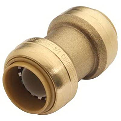 SharkBite U006LFA 3/8-Inch PEX Push-Fit Coupling