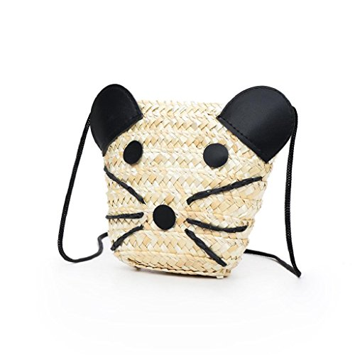 Panda sac Trydoit enfants tissage herbe ww4UA