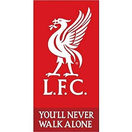Serviette De Plage Dimension.Liverpool Football Club Serviette De Plage Drap De Bain