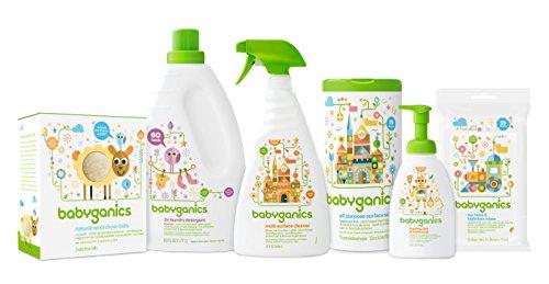 Babyganics All Purpose Surface Wipes Fragrance Free 150