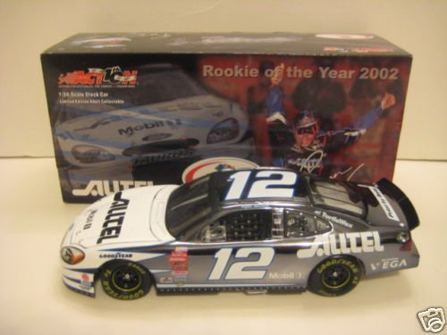 - Ryan Newman 1/24 Action Racing Collectables 2002 Ford Taurus Alltel Rookie of the Year Colorchrome Color Chrome Opening Hood, Opening Trunk Limited Edition Only 10248 Made by Action Racing