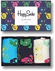 Happy Socks Happy Socks 3 Pack Animal Gift Box uniseks-volwassene sokken