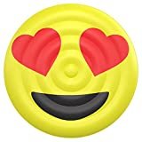 Floatie Kings: Heart Eyes Emoji Pool Float, Huge (Inflatables, Floats Lounger)