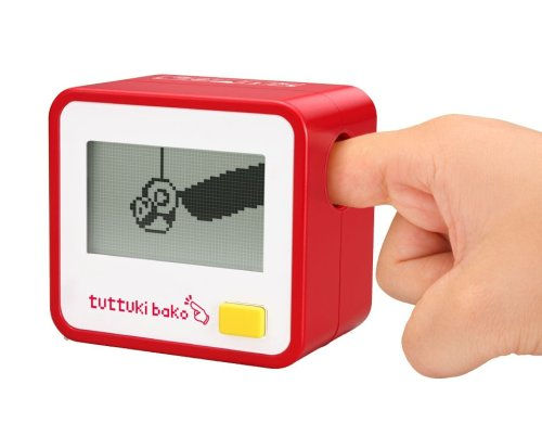 Bandai Tuttuki Bako Virtual Finger Game (Red)