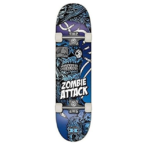 Hillmore zombie ataque skateboard cm