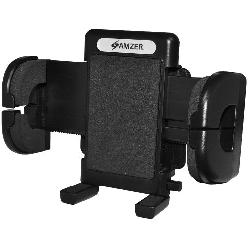 Amzer Amzer Universal Suction Cup Vehicle Car Mount Holder for Windshield, Dash or Console - Mount - Retail Packaging - (Amzer Suction Cup)