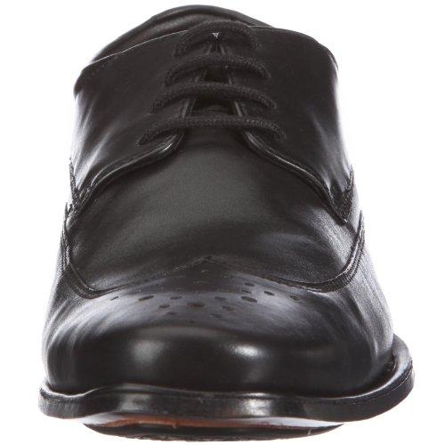 Clarks Feelin Soft 20343913 - Zapatos clásicos de cuero para hombre Negro