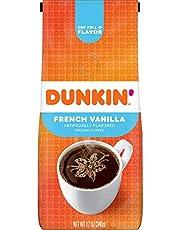 قهوة دانكن فرنش فانيليا مطحونة 340 جم