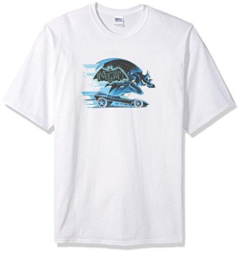 Trevco Men's Tall Size Beware The Batman Short Sleeve T-Shirt at Gotham City Store