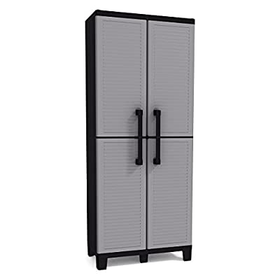 Keter Space Winner 5 ft. Tall Indoor Garage Cabinet