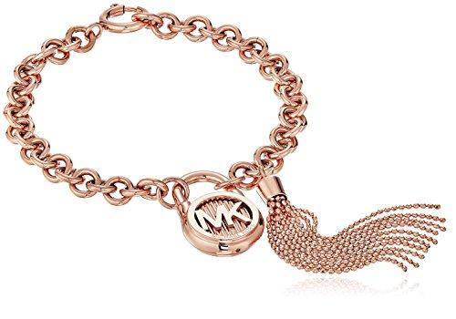 Michael Kors Hamilton Rose Gold-Tone Link Bracelet