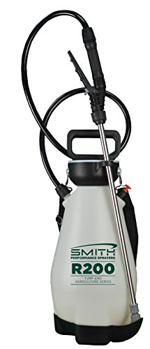 Smith Performance Sprayers R200 2-Gallon Compression Sprayer for Pros Applying Weed Killers, Insecticides, and (Garden Compression Sprayer)