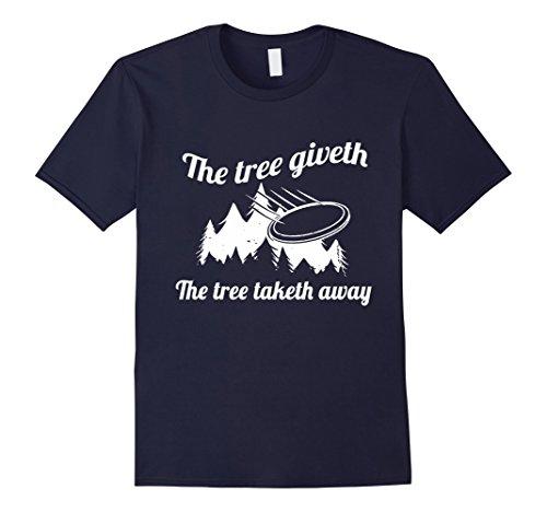 mens-disc-golf-shirt-the-tree-giveth-the-tree-taketh-away-xl-navy