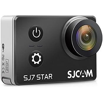 SJCAM SJ7 Star SJ7000 SJ7Star Action Cam Sports Camera 2.0 Inch Touch Screen 4K 30FPS Wifi Ambarella A12S75 Sony IMX117 Underwater Waterproof Digital Camera Gyro Stabilization Black