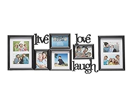 Amazon.com - Live Laugh Love Picture Frames (9 piece set) -
