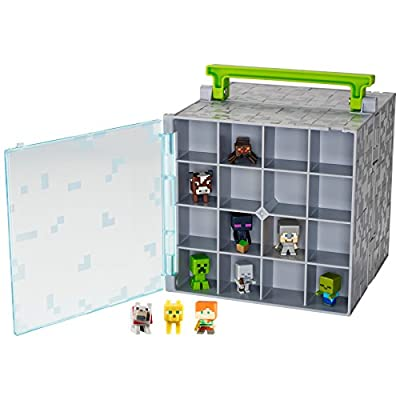 Minecraft Mini Collector Case: Toys & Games