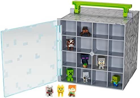 Minecraft Mini-Figure Collector Case with 10 Mini-Figures