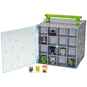 Minecraft Mini-Figure Collector Case with 10 Mini-Figures - 41wYSulgJBL - Minecraft Mini-Figure Collector Case with 10 Mini-Figures