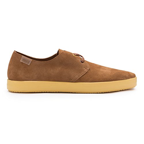 VULK LACE UP - COW SUEDE BROWN