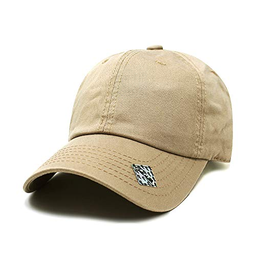 ChoKoLids Cotton Dad Hat Adjustable Blank Cap Low Profile Unstructured Polo Style ()