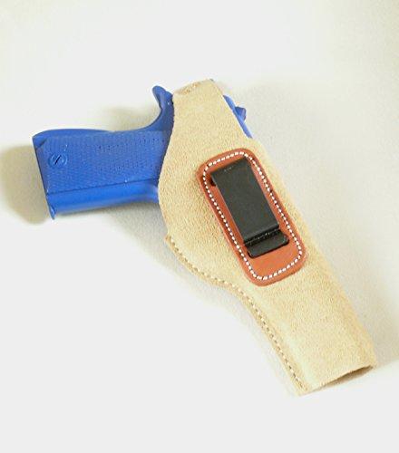 Colt 1911 (And Clones) Concealed Carry Suede IWB - Inside the Pants, or Belt Pistol Holster Inside Pant Suede Pistol Holster