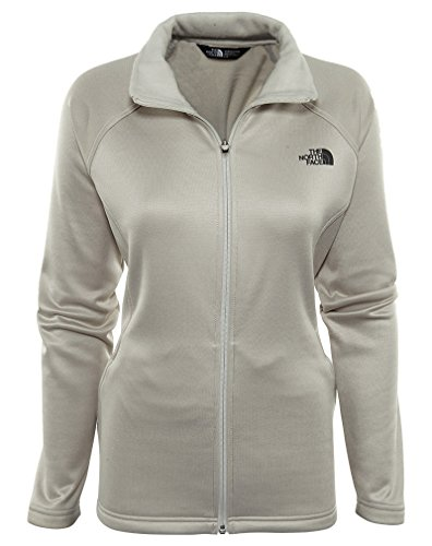 The North Face Women's Agave Full Zip Jacket Moonlight Ivory Heather ()