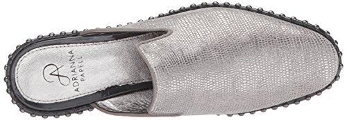 Adrianna Papell Womens Pam Slip-on In Pelle Di Galapagos Acciaio Mocassino
