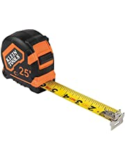 Klein Tools 9225 Tape Measure, 25-Foot Double-Hook Double-Sided Measuring Tape, Magnetic with Retraction Speed Break and Metal Belt Clip