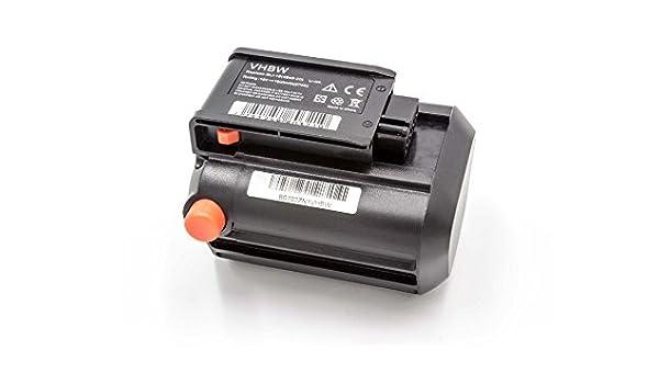 vhbw Batería Li-Ion 1500mAh (18V) para Herramientas de ...