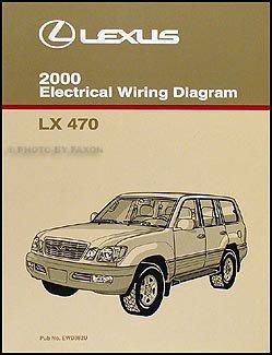 2000 Lexus LX 470 Wiring Diagram Manual Original ()