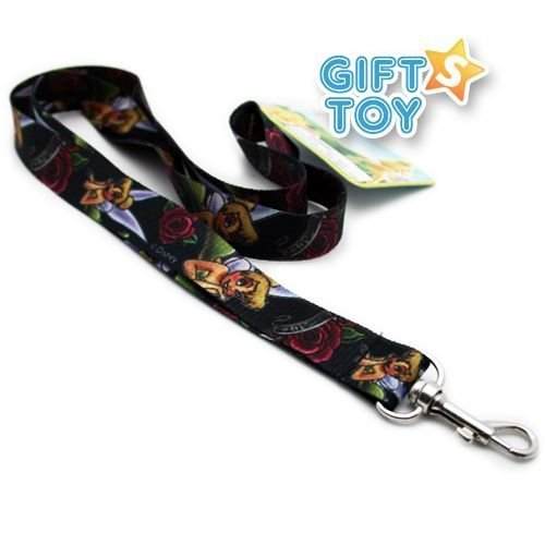 Disney Tinkerbell Lanyard Key Chain & Key Holder(assorted colors) by Lanyards